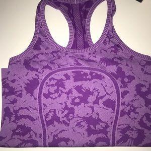 Lululemon Athletica purple tank